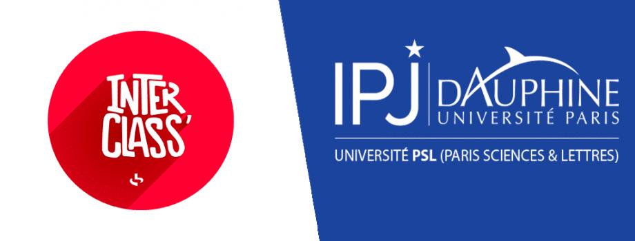IPJ Dauphine renouvelle son partenariat avec l'émission Interclass' de France Inter